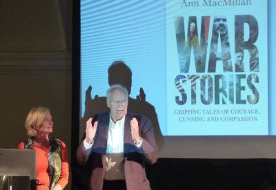 Peter Snow and Ann MacMillan   bd